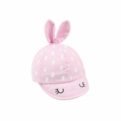 XIAOHAWANG Babys Sun Hat Boys Girls Newborn Caps Bunny Patte