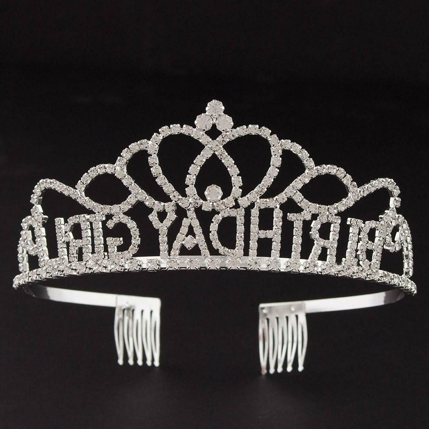 Birthday Crown Silver Accessories