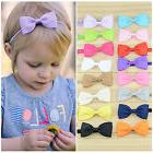10Pcs Infant Baby Girl Bow Headband Newborn Hair Band Headdr