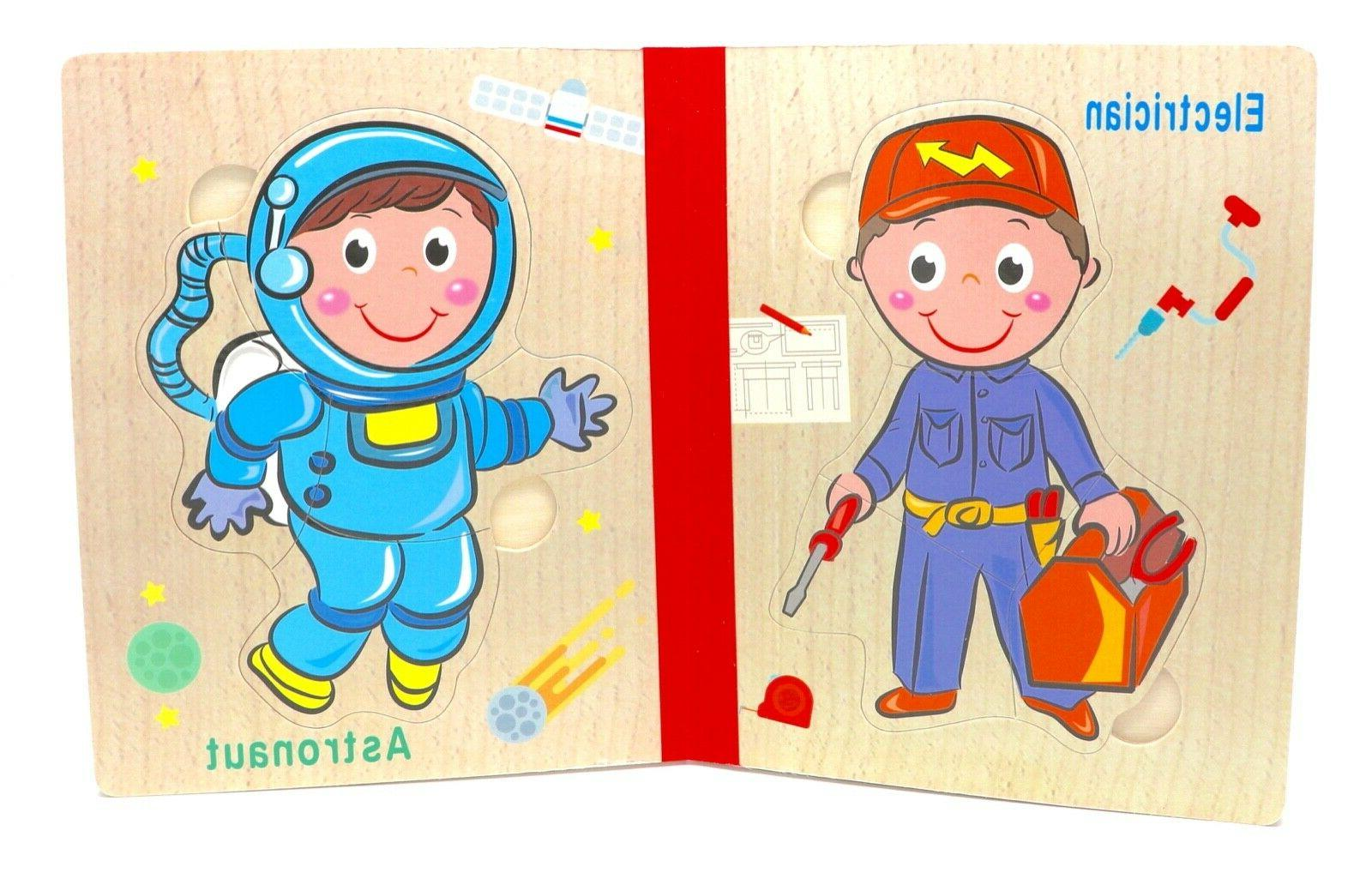 Children's Year Olds Toddler Baby Boy Girl - Occupation book