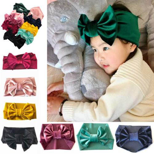 Cute Kid Girl Baby Toddler Bow Band Accessories Wrap
