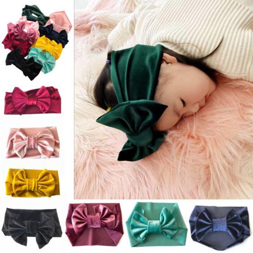 Cute Kid Girl Baby Toddler Bow Headband Hair Band Accessorie