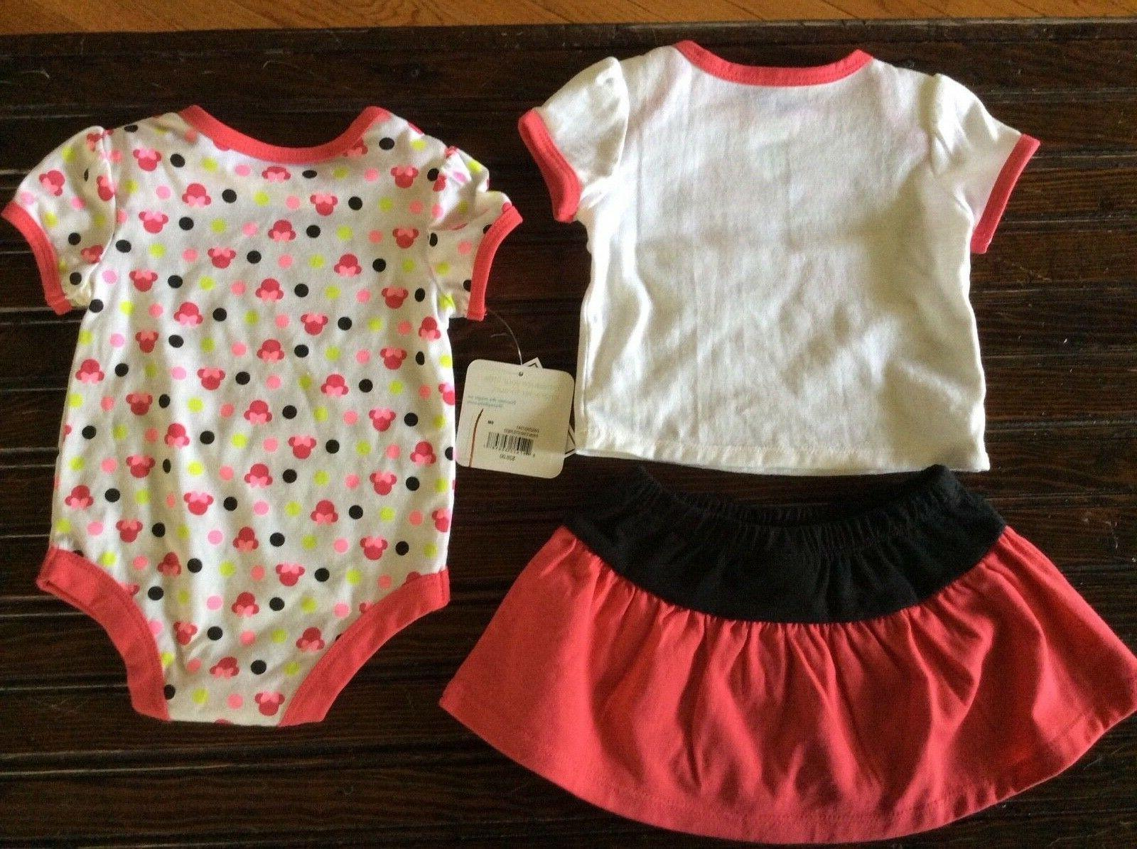 Disney Girl Minnie Mouse piece 6 Month
