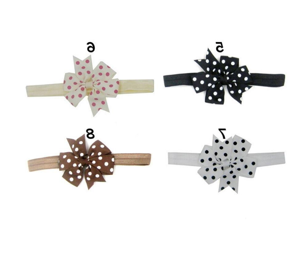20Pcs Colors Girl Infant Toddler Bow Hair