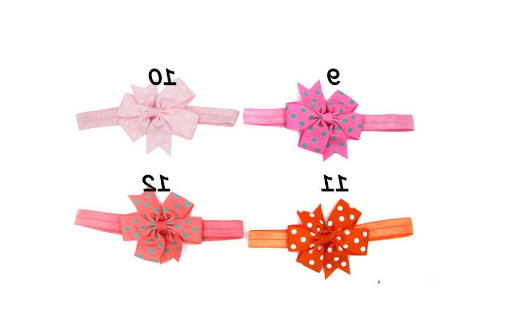 20Pcs Girl Headband Infant Bow Hair Band Accessories