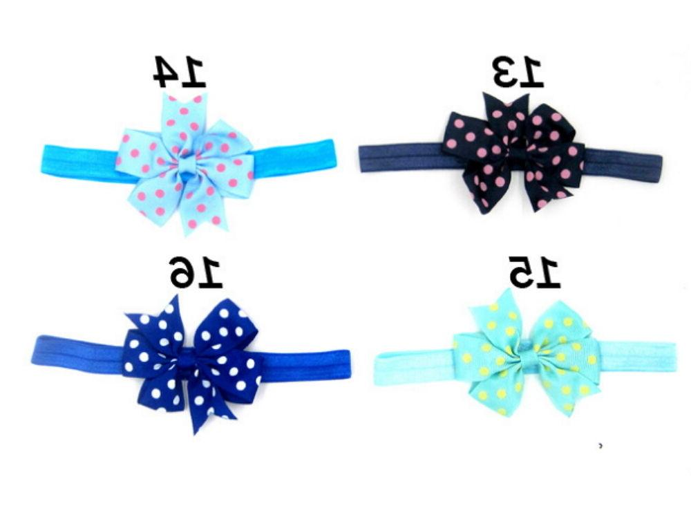 20Pcs Girl Headband Infant Bow Hair Accessories