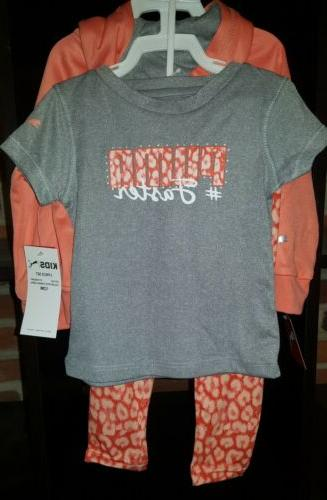 Infant Baby Girl's Puma Coral, 12