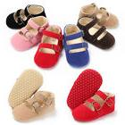Infant Baby Girl Shoes Hook Loop Soft Sole Antislip First Wa