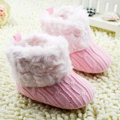 Infant Cotton Crib Shoes