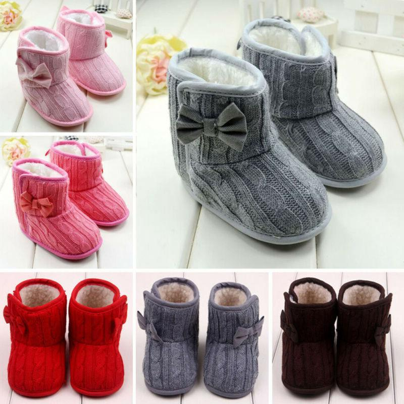 Infant Cotton Boots Warm Crib Shoes