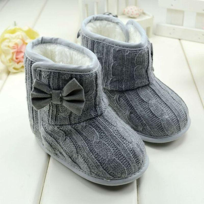 Infant Boots Warm Crib Shoes