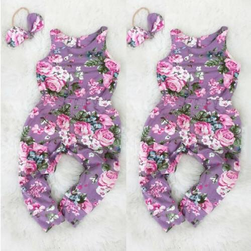 Infant Girl Toddler Jumpsuit Outfit