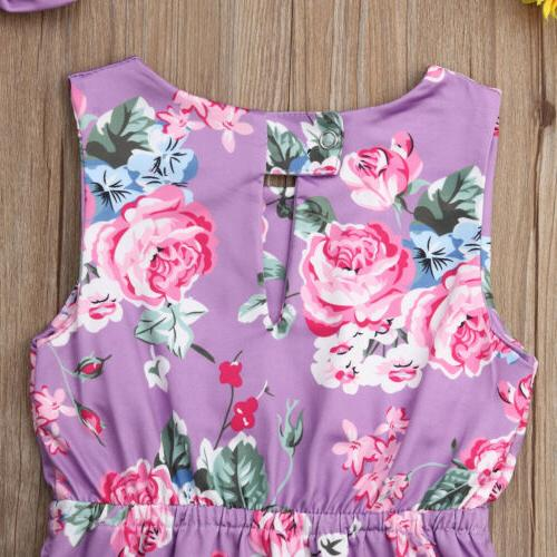 Infant Kids Toddler Jumpsuit Outfit Clothes
