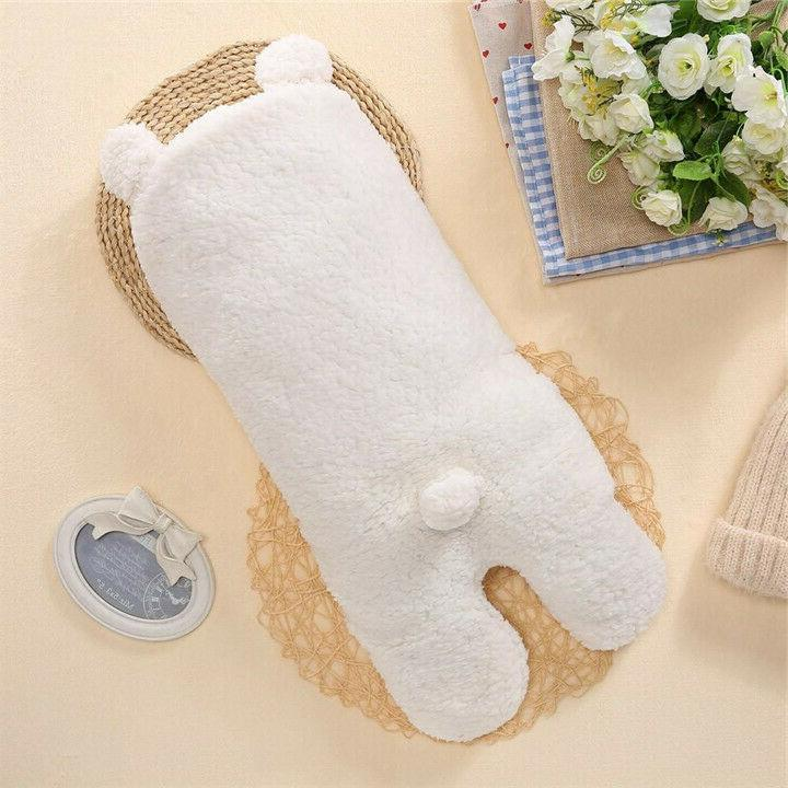 Infant Newborn Girl Fleece Swaddle Wrap