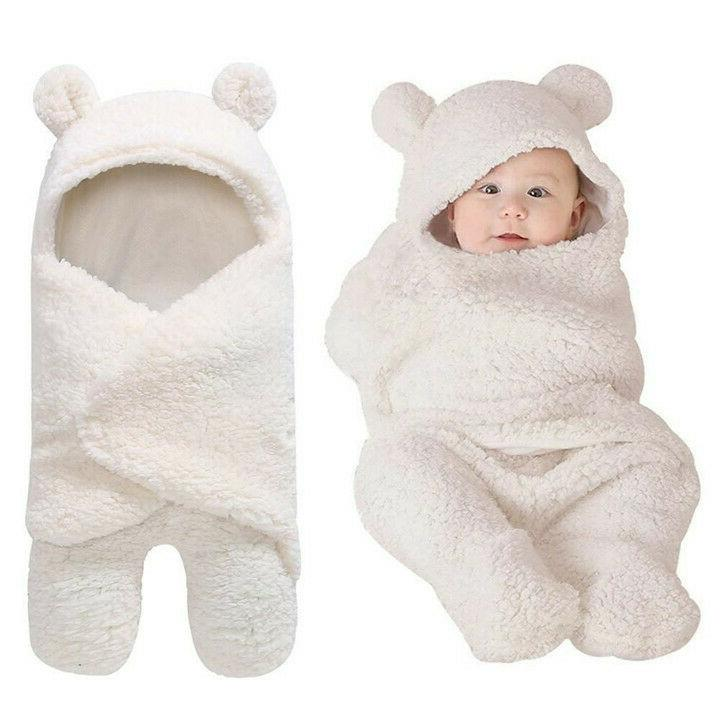 infant newborn baby boy girl soft fleece