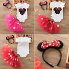 Kids Girls Baby Toddler Minnie Mouse Outfits Birthday Party