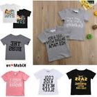Kids Shirt Boy Girl Top Clothes T Shirt Baby Children Toddle