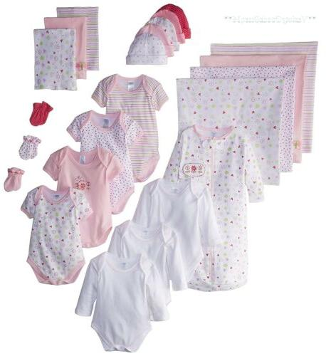 Baby Layette Set Newborn Infant Girl 0 To 6 Months Clothes B