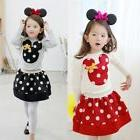 Mickey Minnie Mouse Toddler Kids Baby Girls Boys Hoodie Coat