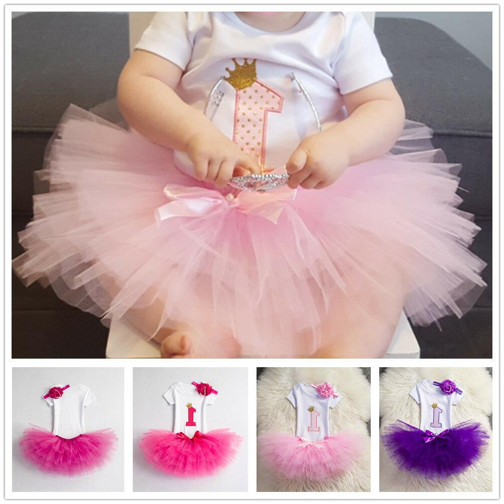 Little Birthday Tutu Outfits Infant Sets