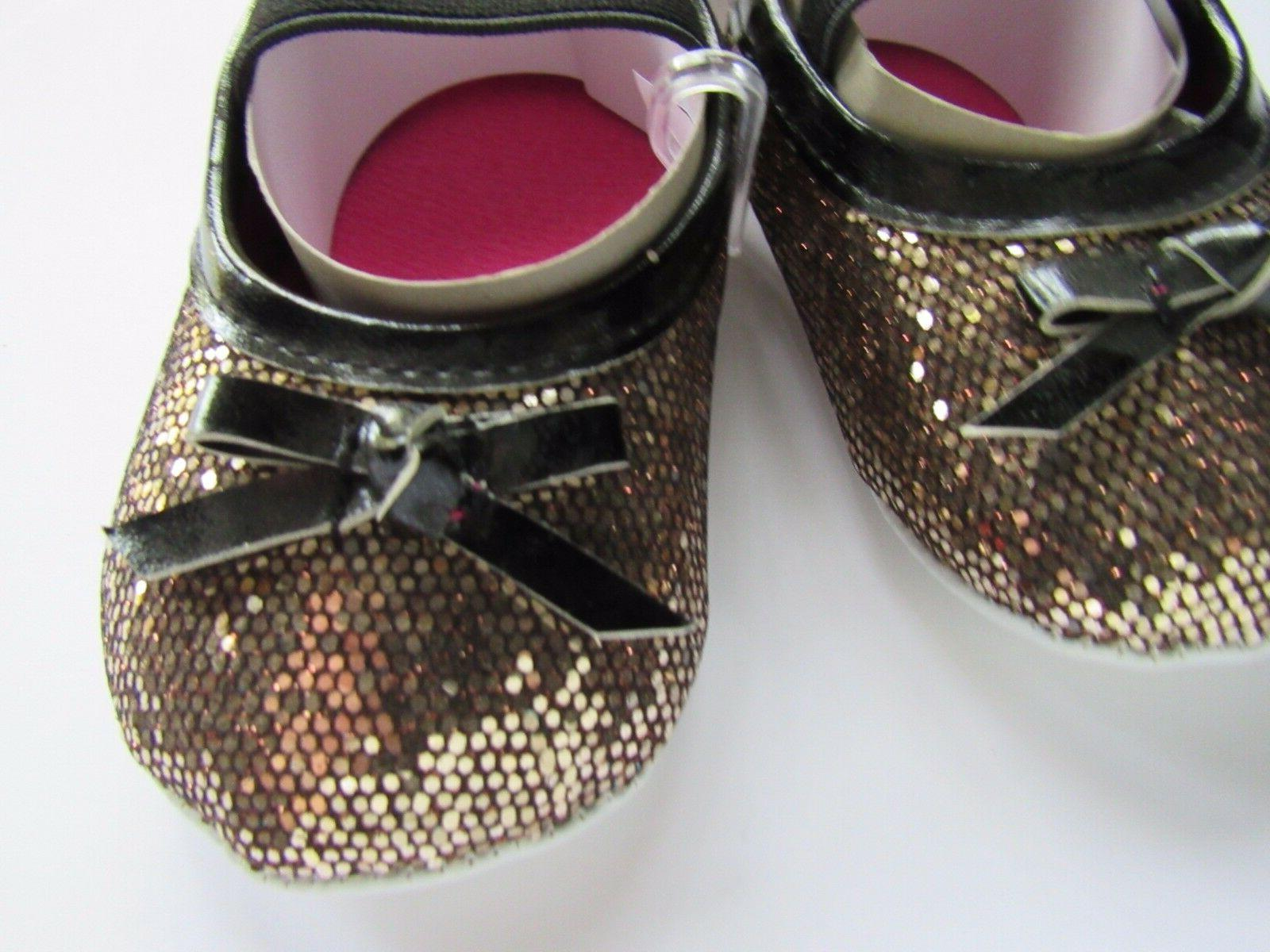 New Baby Girl Sparkle Mary Shoe