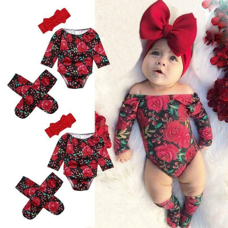 New born Girl Bodysuit Outfits