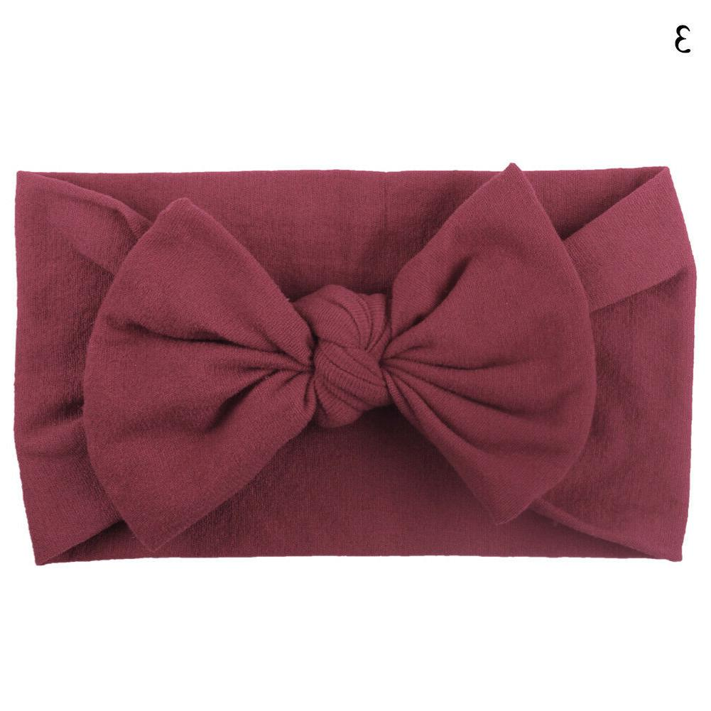 New Kids Girl Baby Bow Soft Band Accessories