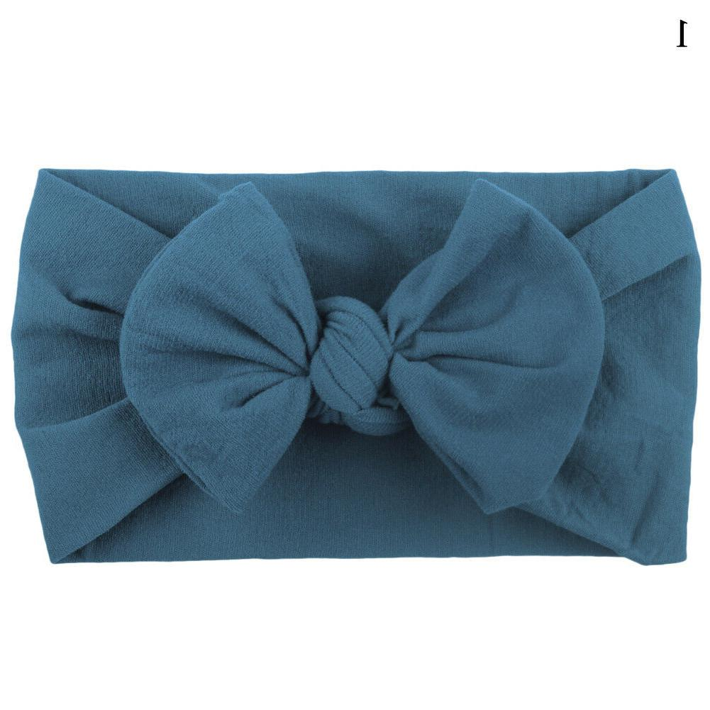 New Cute Baby Headband Infant Bow Soft Band Accessories