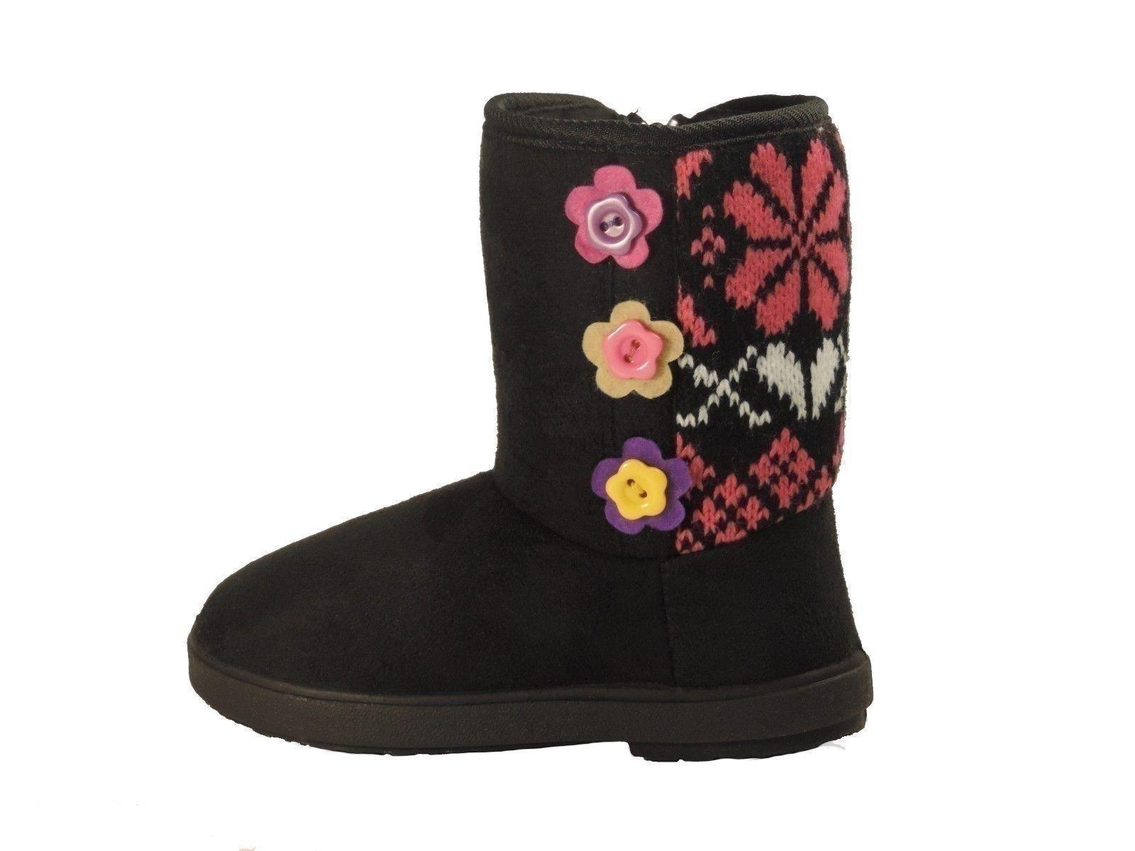 New toddler girls boots baby kids youth booties