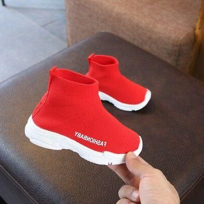 New Toddler Baby Boy Girl Ankle Boots Sneakers