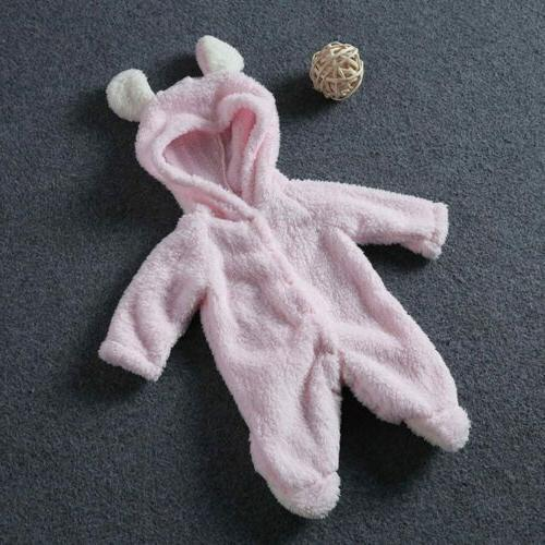 Newborn Bear Outfits Warm Clothes