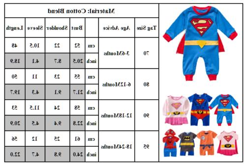 Girls Bodysuit Playsuit Outfits