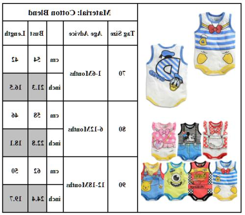 Newborn Infant Girls Romper Playsuit Clothes Outfits
