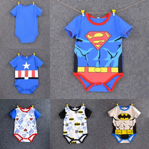 Newborn Infant Girls Playsuit Clothes Outfits