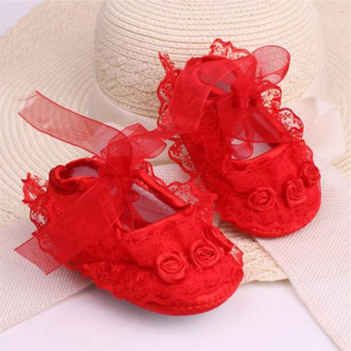 Newborn Infant Baby Girl Princess Lace Baby