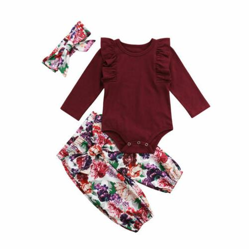 Canis Newborn Girl Romper Pants Clothes