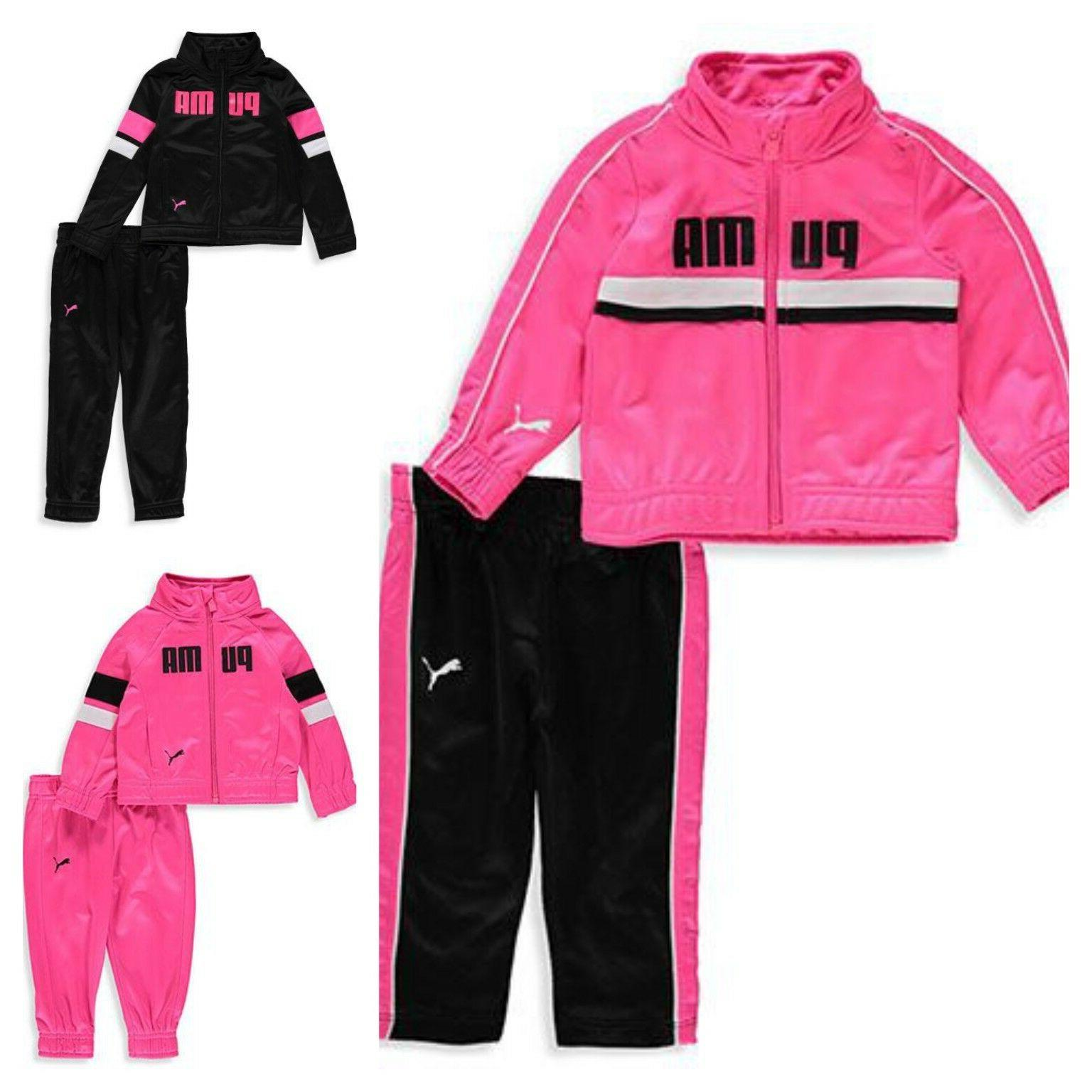 nwt baby girl 2 piece tricot tracksuit