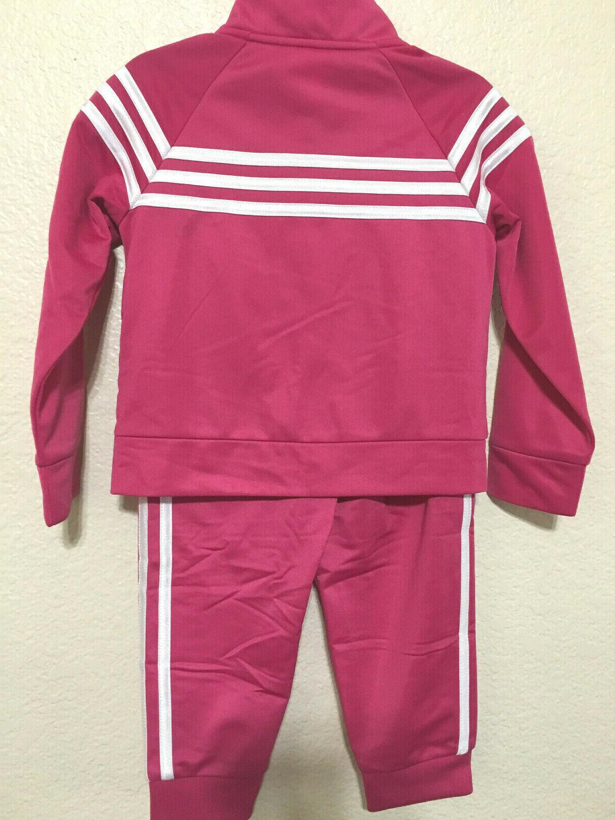 NWT TODDLER KIDS ADIDAS AG4330 EVENT JACKET & TRACKSUIT