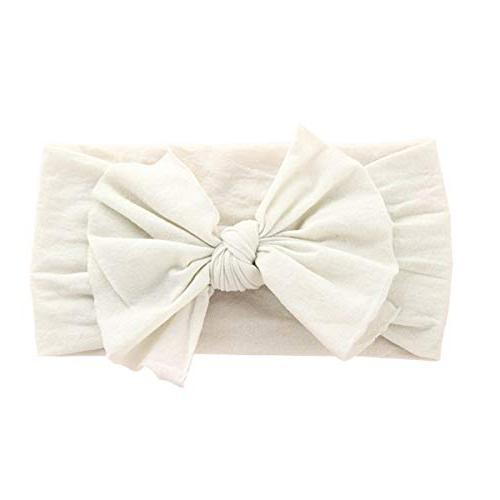 Nylon Headbands Girl Bow Bows Cap Hair