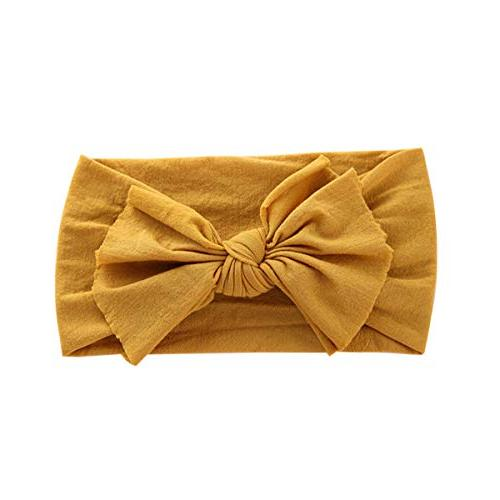 Nylon Girl Bow Infant Bows Cap Hair Band