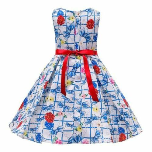 Party Gifts flower baby Girls dress