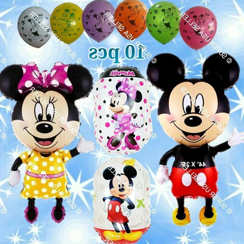 SELECTIONS MINNIE & MICKEY Foil Balloons & Party Supplies Bi