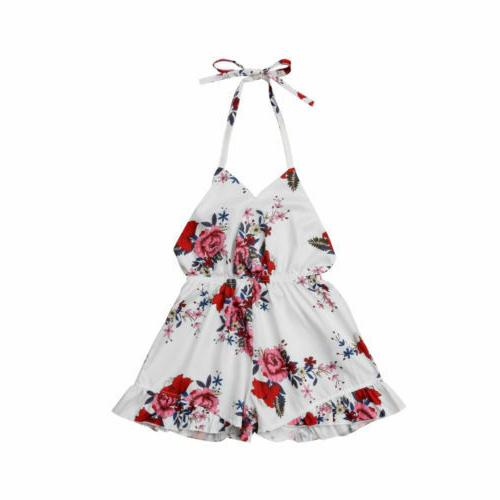 Sleeveless Romper Floral Sunsuit Summer Clothes Outfits For