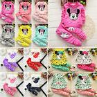Toddler Baby Kid Girls Clothes Minnie Mouse Top Shirt + Pant