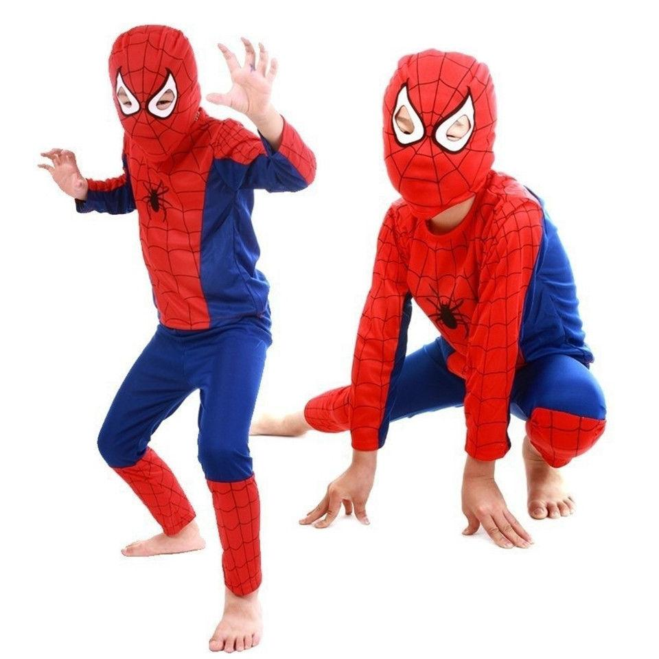 Toddler Kids Spiderman Fancy Dress