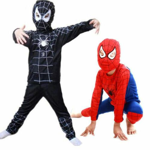 Toddler Kids Spiderman Fancy Dress Halloween