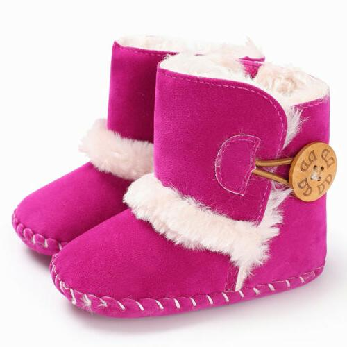 Snow Winter Boots Infant Soft