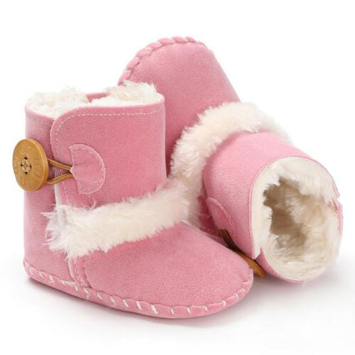 US Baby Snow Boots Infant Soft