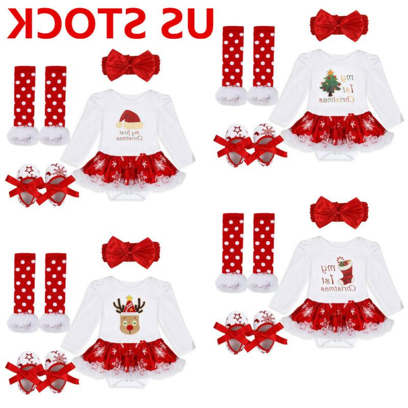 us infant christmas outfit girl baby first