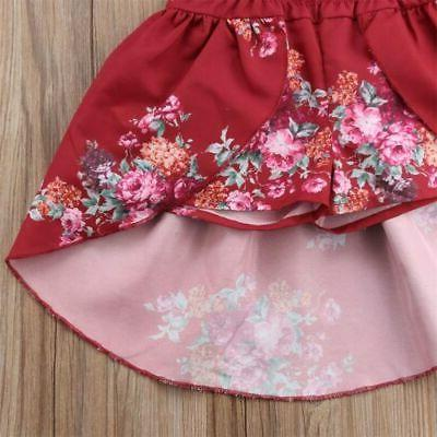 US Flower Girl Lace Party Bridesmaid Sundress